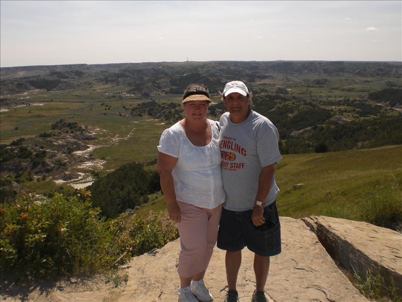 In Theodore Roosevelt National Park.