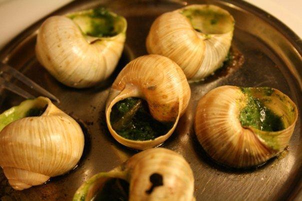 Paris - escargot