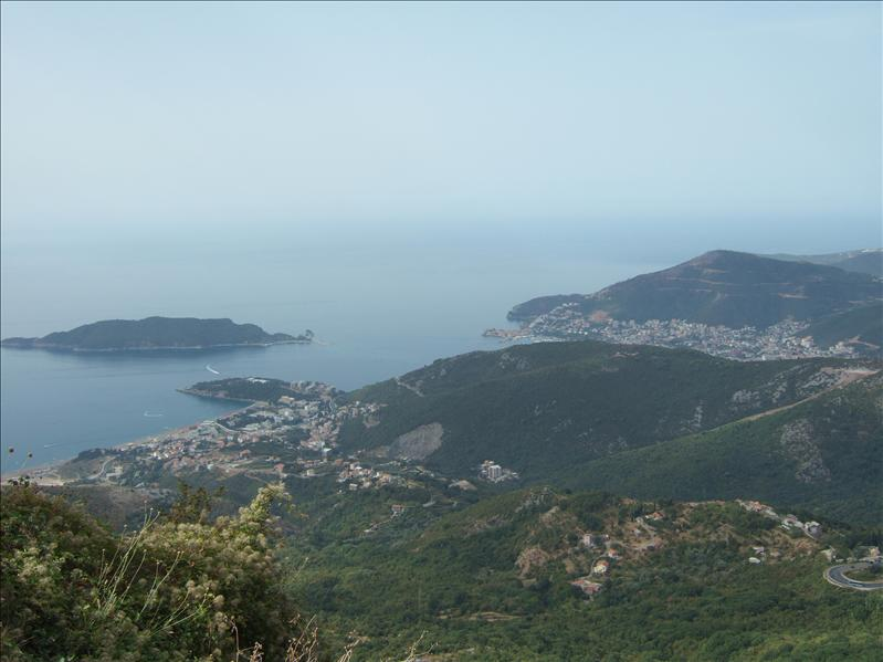 View from the Road Above Budva