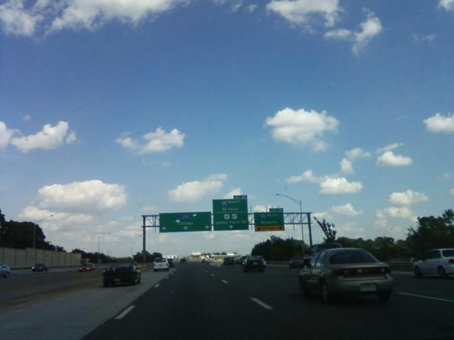 heading for Telegraph road (Missouri hwy. 231), this is the exit just before it on I-255 eastbound