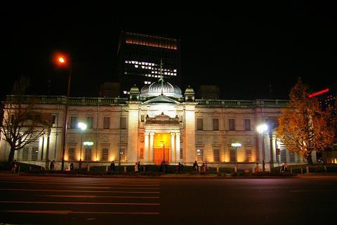 Japan bank building