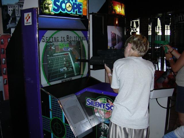 Laser Rock has lots of video games