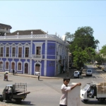 Typical Portugese building in Goa