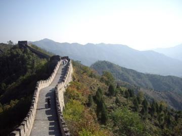 the great wall was AWESOME