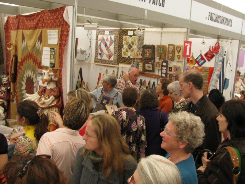 Sitges patchwork exhibition.