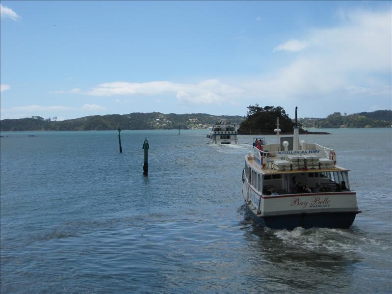 Ze Bay of Islands boat ride again..