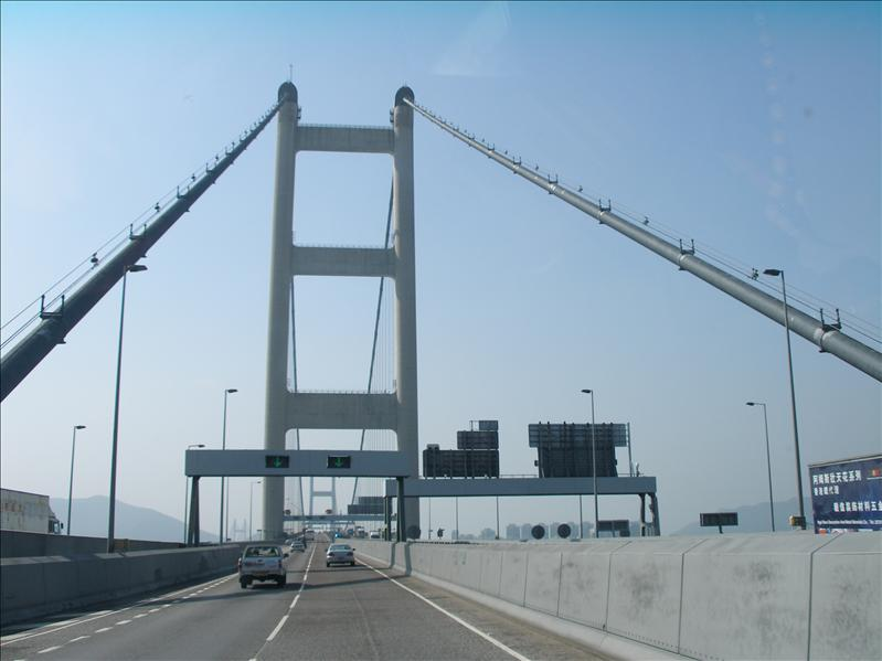 The Tsing Ma Bridge