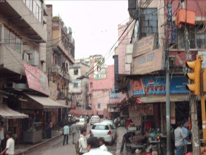 Old Delhi - on rickshaw