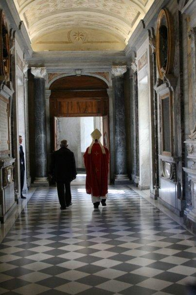 Vatican - THE Cardinal @ St Peter's Basilica (how lucky!)