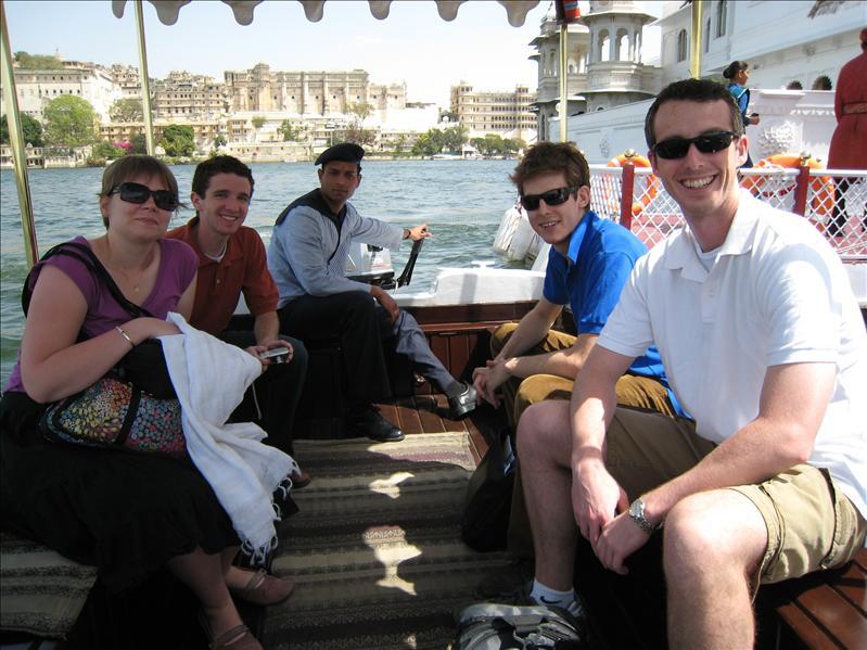 Boat to Lake Palace