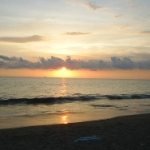 Sunset on Padang Beach