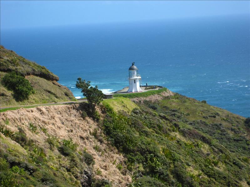 The light house at Cape Reinga - the north point of NZ
