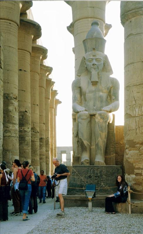 impressive monuments at Karnak