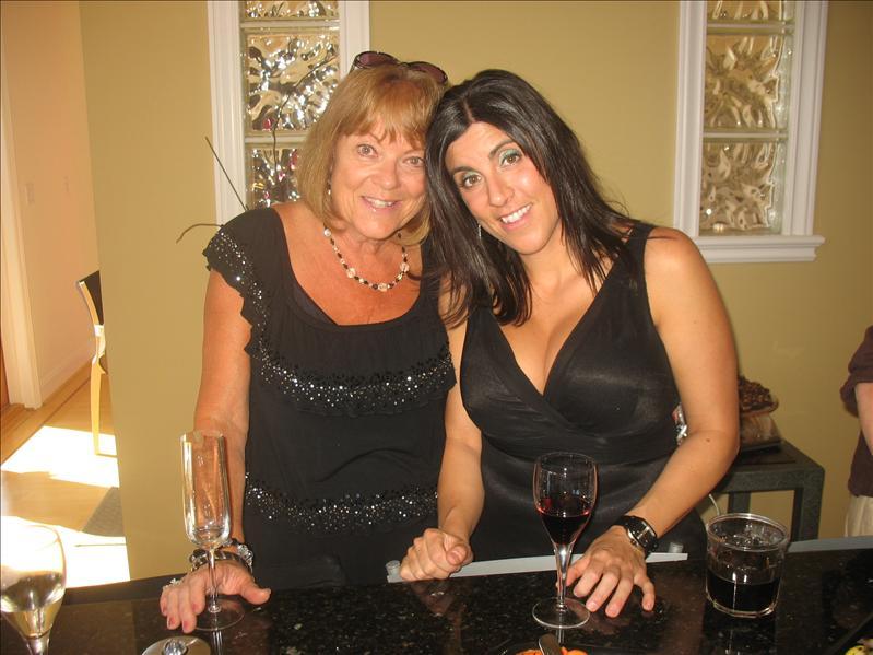 My beautiful cousins, Barbara & Alyssa