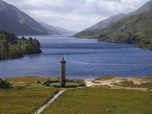 GLENFINNAN MEMORIAL, SEPT 2007