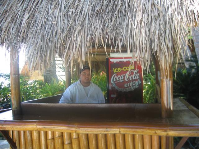 Wes: wannabe bartender.