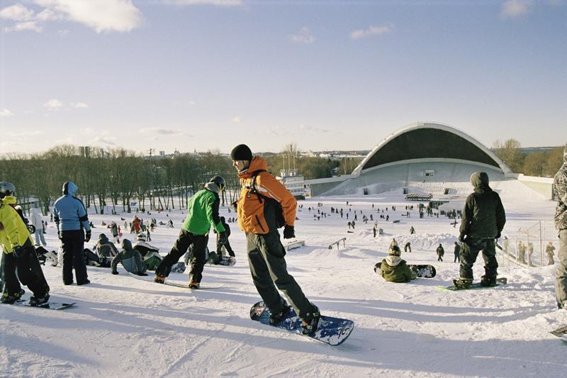 Skiing in Tallinn