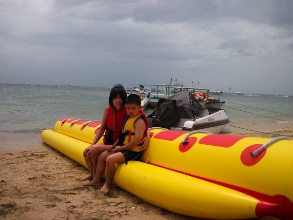Yes, we went back to Tanjung Benoa.