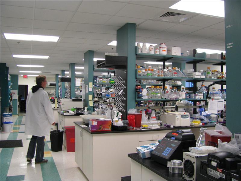 het moleculaire lab