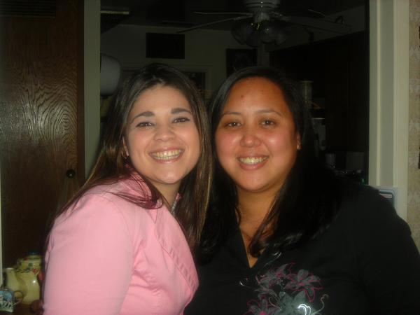 my cousin, Christine and I