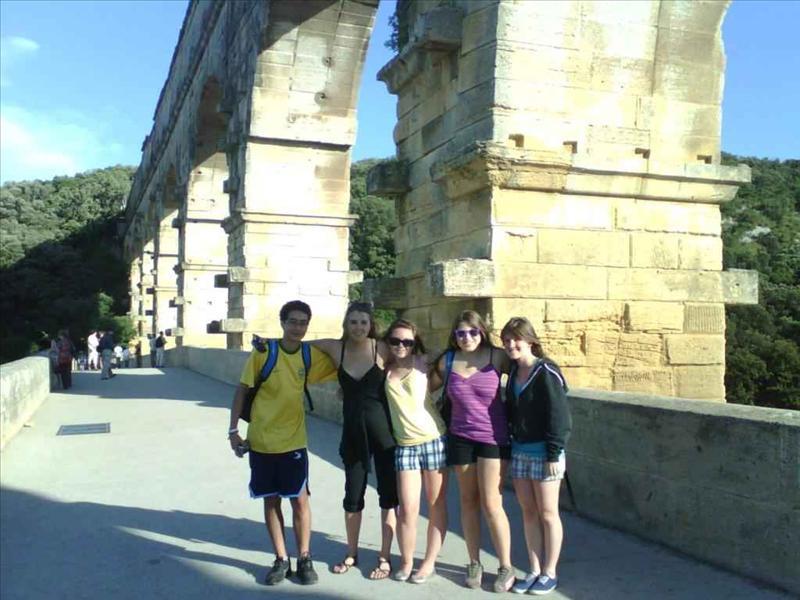 Shauna - Pont du Gard, France