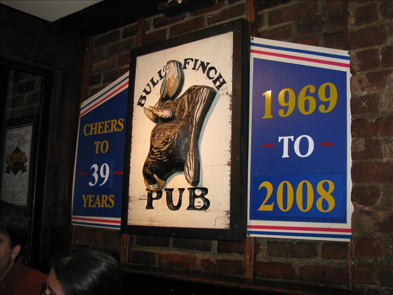 dit is de originelee pub waar cheers op gebaseerd is