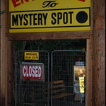 Santa Cruz, CA - Never found out the mystery of the Mystery Spot