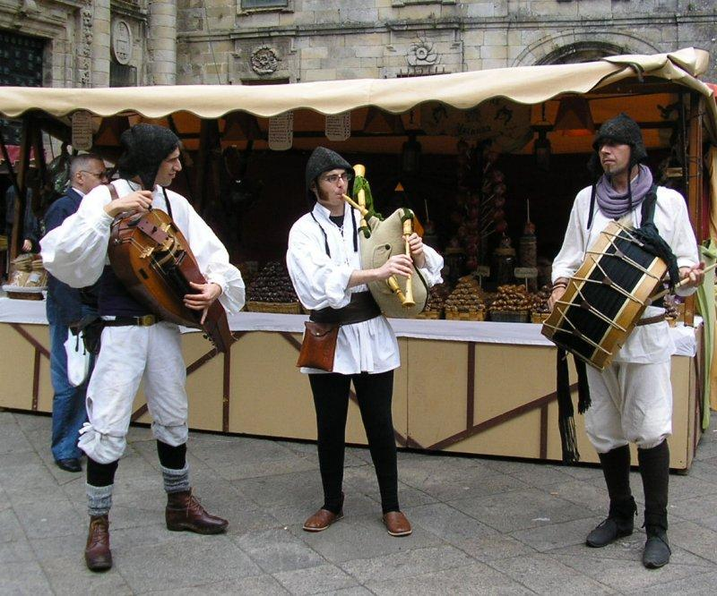 .. and listen to medieval minstrels.