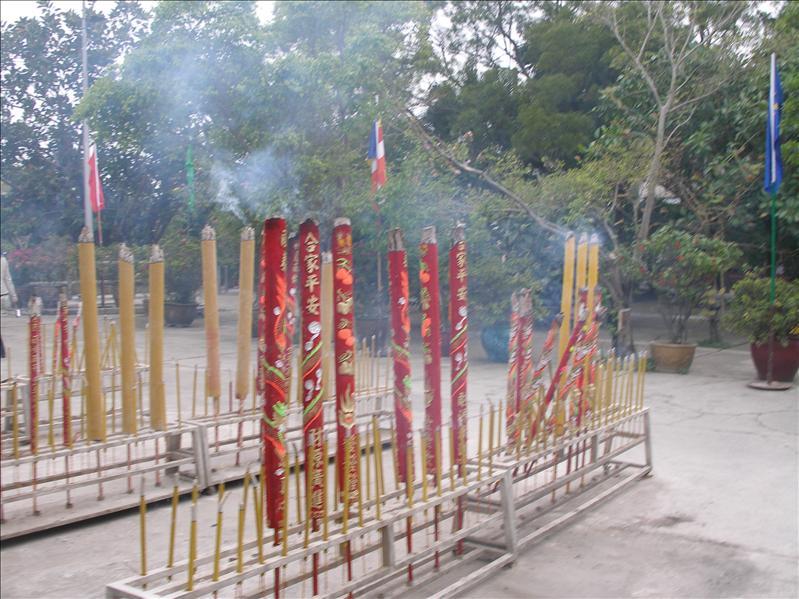 The no-smoking zone