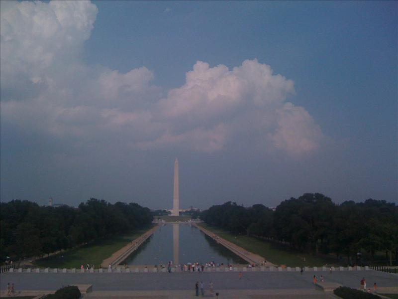 Lincoln to Washington Monument
