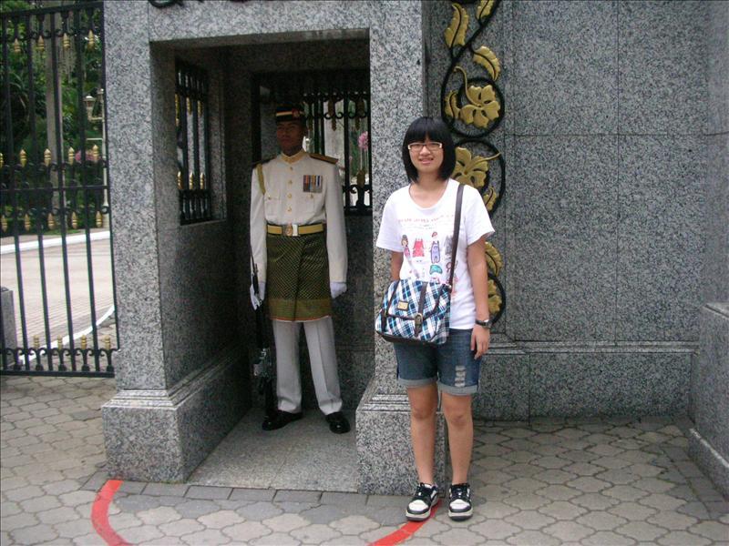 國家皇宮Istana Negara大門口