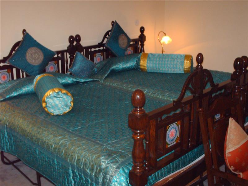 My hotel room in Jaipur - Shahpura House