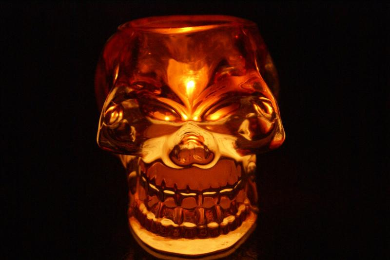 The Glowing Skull