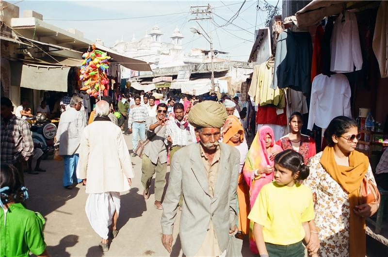pushkar street life