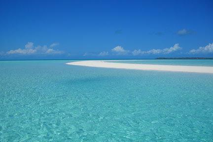 Oui, j'ai vraiment pris une bière sur ce banc de sable en plein milieu de l'océan...