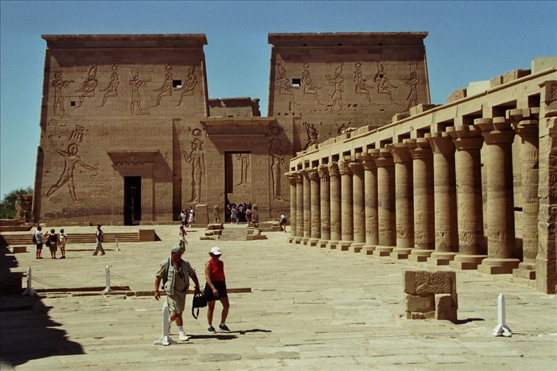 Philae temple 690 B.C.