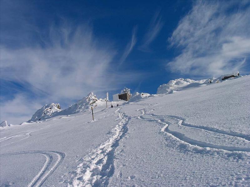 """View of Cherni Vrah (""""Black Peak""""), Vitosha"""