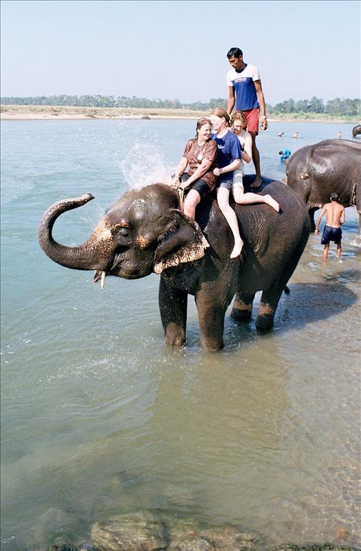 Sophie, Suzanne & me, Chitwan