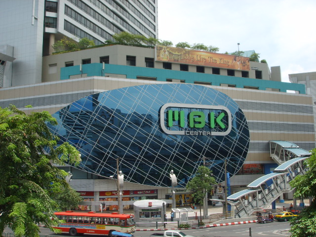 The newest shopping mall..MBK