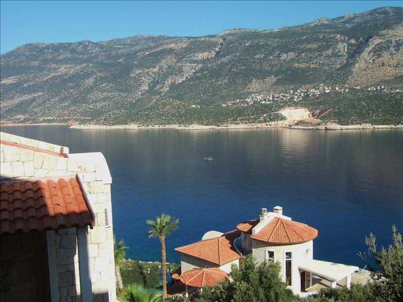 View from our Balcony - Kas