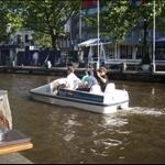 Canal biking