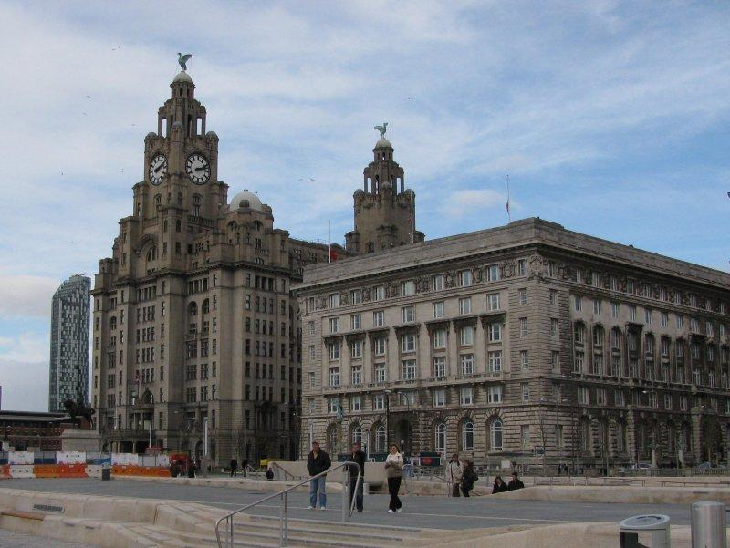 ... then on to Liverpool Pier Head....