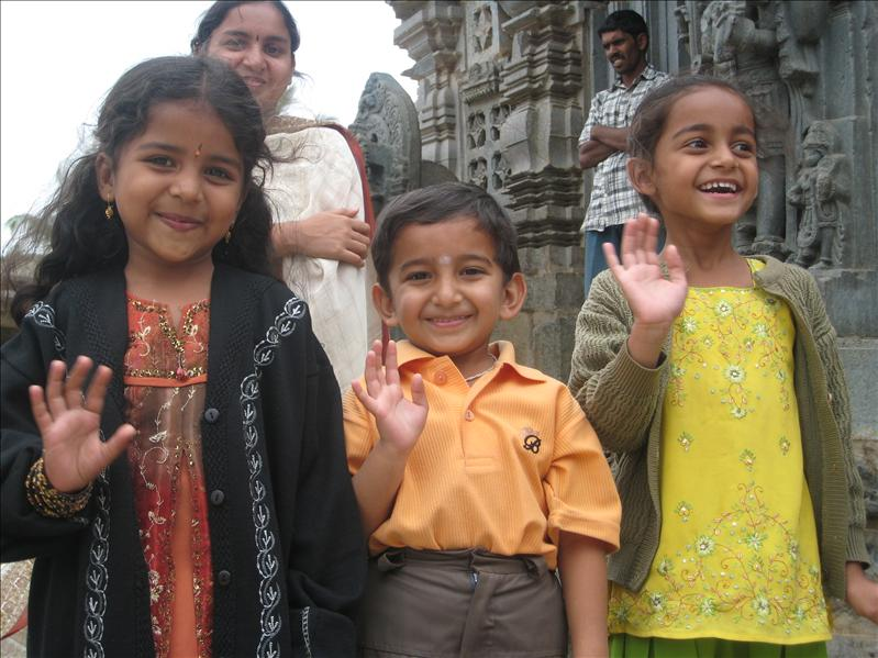 Karnatakan temple near Mysore