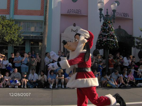 Goofy Santa
