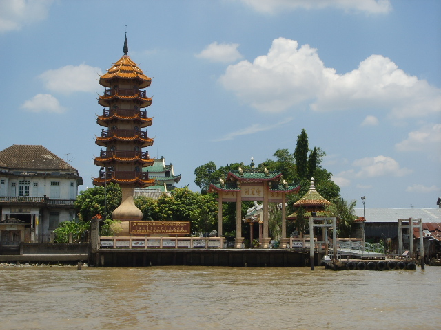 on Chao Phraya River