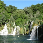In the Krka National park near Sibonik ....