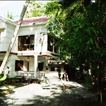 this is the house,just outside of phnom penh. we went for lunsj that lasted for 3 days