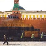 Red Square, Moscow 2002. Lenin wasn
