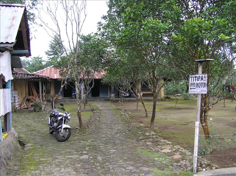 Typical Javanese house