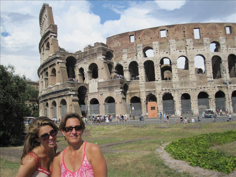 Girls at the Coloseum